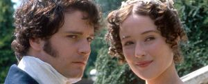 Colin Firth e Jennifer Ehle