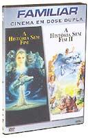 Capa do DVD do filme A história sem fim I e II