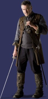 Robert De Niro como o Capitão Shakespeare
