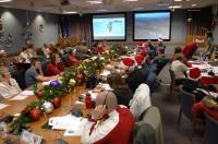 Voluntários na Base Aérea de Peterson