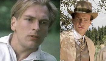 Julian Sands (1985) e Rafe Spall (2007)