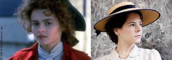 Helena Bonham-Carter (1985) e Elaine Cassidy (2007)