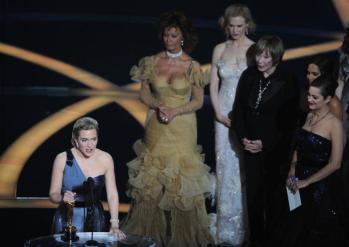 Kate Winslet, Melhor Atriz, com