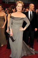 Actress Meryl Streep arrives at the 81st Annual Academy Awards h