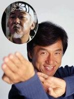 Jackie han é o novo Senhor Miyagi