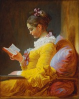 A Young Girl Reading, Jean-Honoré Fragonard, 1776