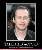 Atores talentosos nem sempre vêm num embrulho bonitinho