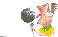 Ilustração de Reinaldo Figueiredo para a revista Piauí
