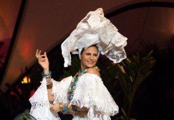 Traje típico da Miss Brasil