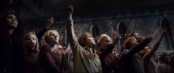 A homenagem a Dumbledore