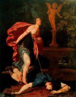 Píramo e Tisbe, Gregorio Pagani (Galeria Uffizi, Itália)
