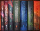 Os sete volumes da Scholastic