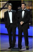 Stephen Moyer e David Boreanaz