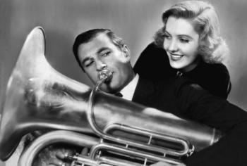 Gary Cooper e Jean Arthur