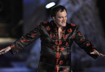 Quentin Tarantino apresentou o prêmio para George A. Romero