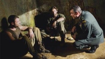 Liev Schreiber, Hugh Jackman e Danny Huston