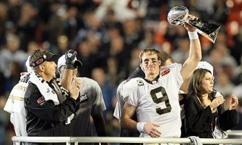 Sean Peyton e Drew Brees, do Saints