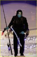 Ben Stiller vestido e maquiado de Na'Vi