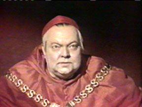 Orson Wlles como Cardeal Wolsey