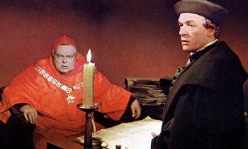 Orson Welles e  Paul Scofield