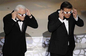 Steve Martin e Alec Baldwin, apresentadores