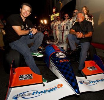 Mark Wahlberg e Mario Andretti