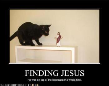 Encontrando Jesus: Ele estava no topo da estante o tempo todo.