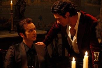 Russeçl, rei-vampiro do Mississipi, e Talbot.