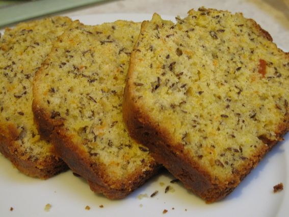 Lemon Caraway Seed Cake Recipe