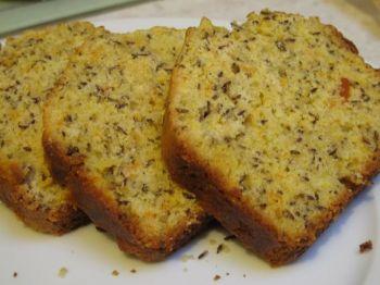 Caraway seed cake, bolo de cominho