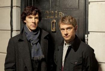 Sherlock Holme e Dr. John Watson, Baker Street 221B