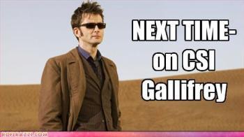A seguir: em CSI Gallifrey