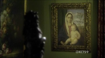 Madonna and child 4, Giovanni Bellini, no episódio de 2010