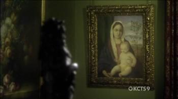 Madonna and child 4, Giovanni Bellini, no episódio de 2010