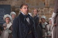 Mr Brocklehurst (Simon McBurney), patrono da Escola Lowood